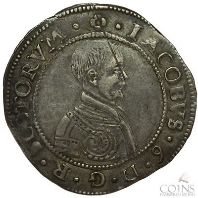 James VI Silver Ten Shillings - Scottish