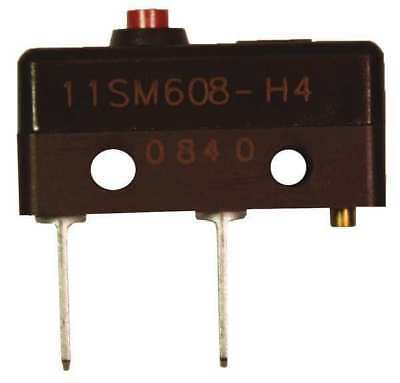 HONEYWELL 11SM608-H4 Sub-Mini Snap Swch,5A,SPDT,Pin Plunger