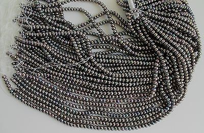 B3333-10 Ten  Strands Peacock Button Freshwater Pearl Loose Jewelry Craft Bead