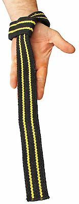 Strength Shop Heavy Duty Thick Thor Lifting Straps - With 3 Year Warranty