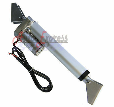 "Water Resistant 12"" Linear Actuator w/ Brackets Stroke 12V DC 200 Pound Max Lift"