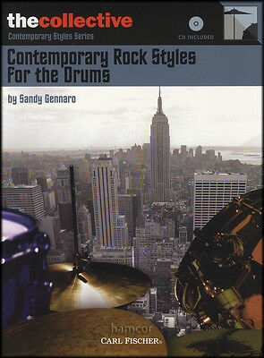 Contemporary Rock Styles for the Drums Music Book/CD