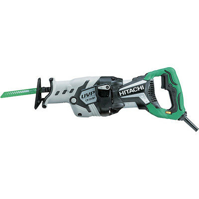 Hitachi 12 Amp Tooless Low Vibration Reciprocating Saw CR13VBY NEW