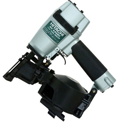 """Hitachi NV45AB2 7/8"""" to 1-3/4"""" 16 Deg Professional Roofing Coil Nailer New"""