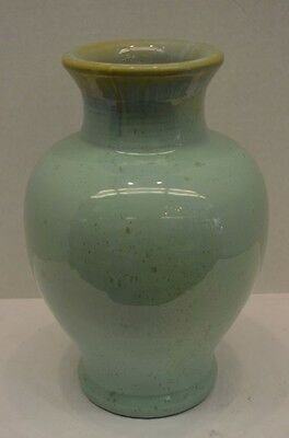 Fulper Green Art Pottery Vase - 1920s American