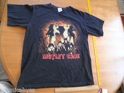 Motley Crue 2006 Route of All Evil concert tour t-shirt sz M