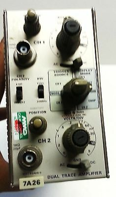 Tektronix 7A26 200MHz Dual Trace/Channel Amplifier Plug-In Module for 7904A