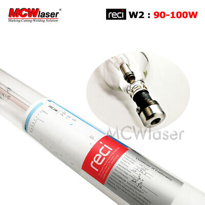 90W RECI CO2 Laser Tube Peak 100W W2 S2 Engraving Cutting Air Express Insurance
