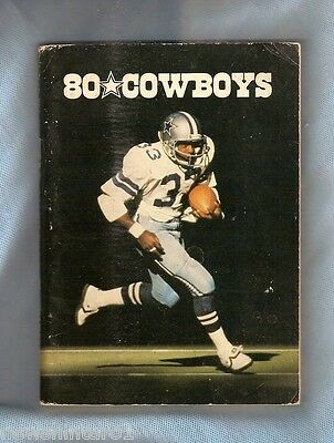 #d134.  Dallas Cowboys Nfl 1980 Preview, 1979 Results Yearbook