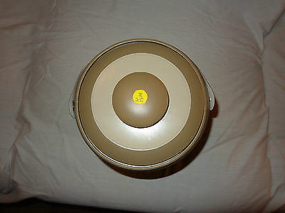 Georges Briard Ice Bucket signed Vintage from Wisconsin-Beiges-Made U.S.A.-EUC