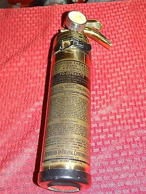 """American LaFrance Vehicle Fire Extinguisher """"EMPTY"""""""