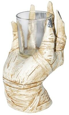 Mummy Hand Votive Candle T-Light Holder Halloween Decoration Decor Prop NEW