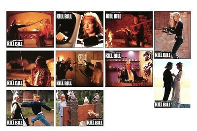 Kill Bill Vol 2 - Tarantino / Thurman / Caradine - Rare French Lobby Card Set