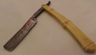 Vintage Griffon XX 60 Carbo Magnetic Griffin Trade Mark straight Razor Germany
