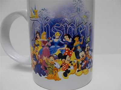 Disney Coffee Cup With Minnie Mouse Mickey Mouse Donald And Others