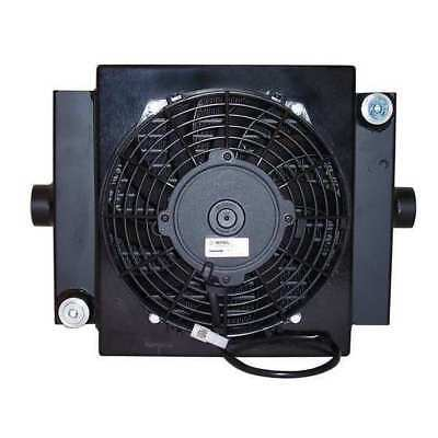 COOL-LINE D10-12 Oil Cooler, 12 VDC, 2-30 GPM, 0.08 HP