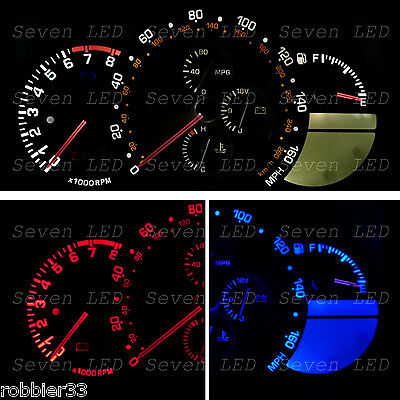 Gauge Cluster LED Bulb KIT LEDS led for Lexus 01 - 05 IS300
