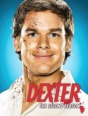 Dexter - The Complete Second Season (DVD, 2008, 4-Disc Set)  GOOD/ACC