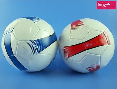 1pc Soccer Ball Size 5 White with Assorted Colors KD05421