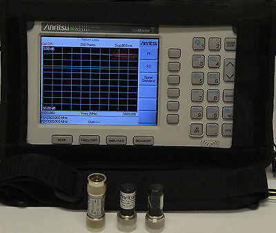 *SuPerB* Anritsu S331D SiteMaster Cable/Antenna Analyzer w/Opt 3 22N50 SM/STL