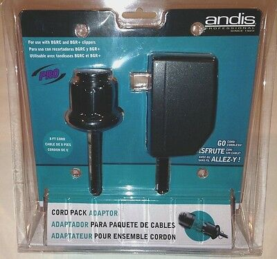 Andis BGRC 8 ft Cordpack Adaptor #63070 for BGRC & BGR+ Clippers