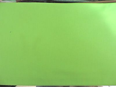 100% Cotton - Solid Lime Green Fabric - By The Yard
