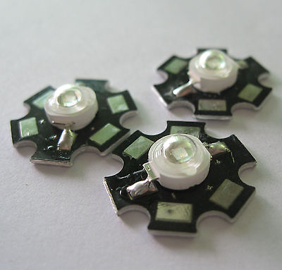 20mm star base 700mA for Aquarium 10pcs 3W Ultra Violet UV LED 10LM 395-400nm