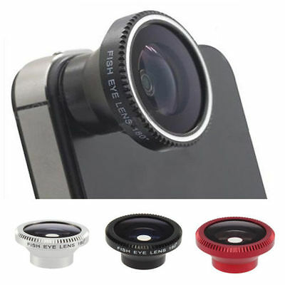 Hot Magnetic Wide 180°Detachable Fish Eye Lens for CellPhone iPhone 4 4G 4S L78S