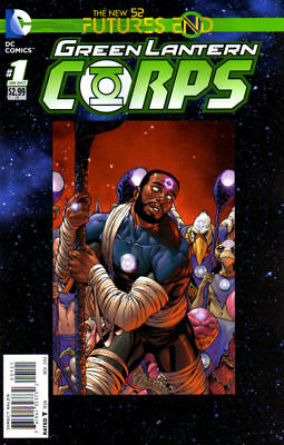 Green Lantern Corps Futures End #1 Standard Cover