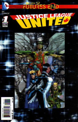 Justice League United Futures End #1 3D Cover