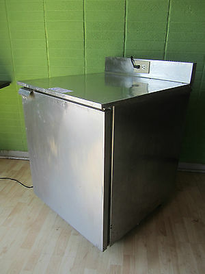 Franke CFS-7 Under Counter Refrigerated Prep Table Cooler On Wheels