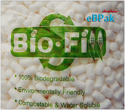 100 Litre BioFill Void Fill cushioning Peanuts Packing Nuts Loose Fill Packaging