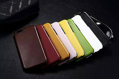 New GENUINE COOL 7 COLOUR LEATHER COVER CASE FOR iPhone 6 6S  6 PLUS 6S PLUS