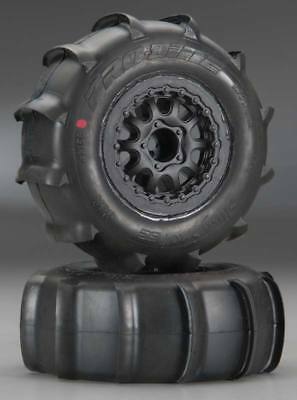 NEW Pro-Line Sling Shot SC 2.2 /3.0  XTR Tires (2) Mounted 1158-17
