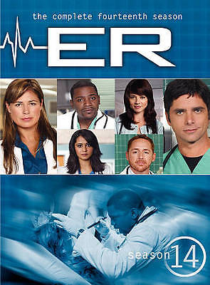 ER: The Complete Fourteenth Season (DVD, 2011, 5-Disc Set) NEW FREE SHIPPING