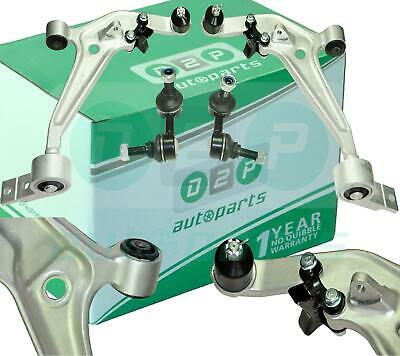 For Nissan X-Trail Front 2 Suspension Lower Wishbone Arms Ball Joints & Links
