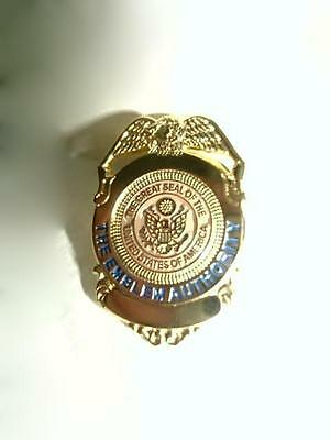 Police Badge Produced By The Emblem Authority Sample Lapel Pin Tie Tack (new)