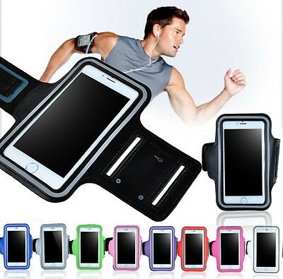 Sports Elastic Gym Running Armband Case Cover Pouch Holder for iPhone 7 6s Plus