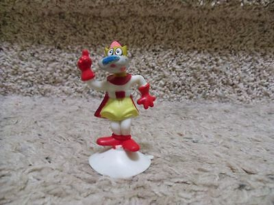 1989 Wendys' Petey Pate Suction Cup Figure. A Mighty Mouse Character. Viacom.