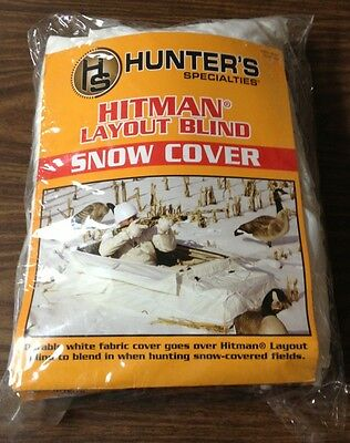 Hs Hunter's Specialties Hitman Layout Ground Hunting Blind Snow Cover 08591 New!