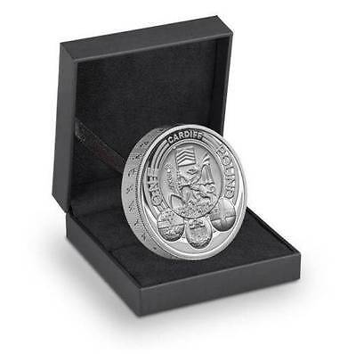 2011 UK 1 Pound Cities of  Wales - Cardiff .925 Proof  Silver Coin LIMITED!!!