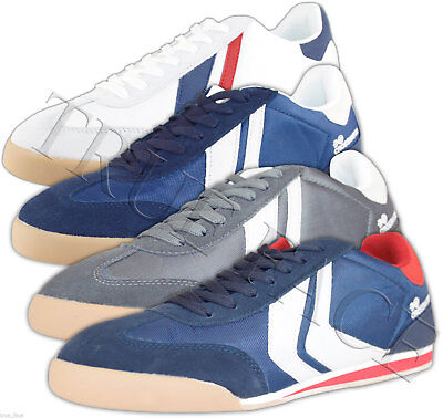 Mens Crosshatch Designer Low Top Quilted Trainers Sneakers Casual Shoes