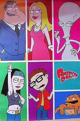 American Dad -Characters -Licensed POSTER-90cm x 60cm-Brand New