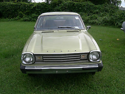 Dodge : Other 2dr coupe 1978 dodge colt mitsbishi lancer all orig rwd 1 owner meticulously maintained