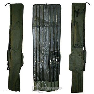 Eco Carp Fishing 3+3 Rod And Reel Holdall Bag For 12Ft Made Up Carp Fishing Rods