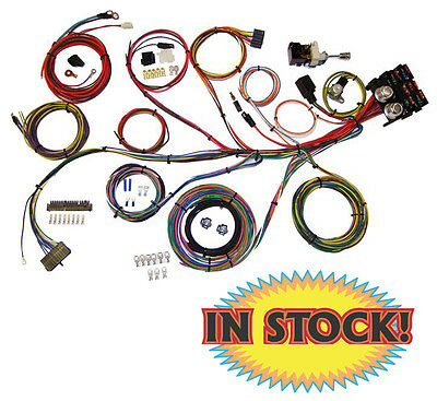 American Autowire Wiring System 13 Power Outlets Gm Column Kit Pn