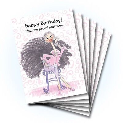 Suzy's Zoo Happy Birthday Card 6-pack 10295