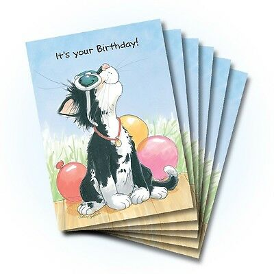 Suzy's Zoo Happy Birthday Card 6-pack 10322