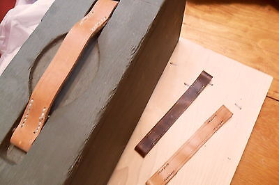 1917 AMMO BOX REPLACEMANT LEATHER HANDLE