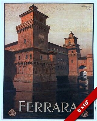 VINTAGE 1920'S ERA VENICE ITALY TRAVEL POSTER PAINTING ART REAL CANVAS PRINT